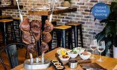 Groupon - All-Meat-You-Can-Eat Brazilian Churrasco for One ($ 35), Two ($70) or Four People ($140) at Char & Co (Up to $220 Value) in Double Bay. Groupon deal price: $35 Brazilian Churrasco, Latin American Restaurant, Brazilian Restaurant, Natural Charcoal, Roasted Meat, Chimichurri, Food Menu, Barbecue, Holiday Recipes