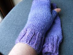 ladies heather tweed fingerless gloves by beaulyben on Etsy, $20.00