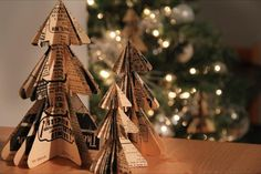 ¿Cómo hacer adornos navideños de papel? - https://navidad.es/como-hacer-adornos-navidenos-de-papel/