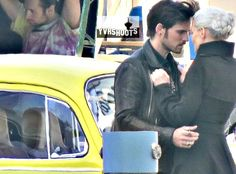 "Colin O'Donoghue and Jennifer Morrison in Steveston - Behind the scenes - 5 * 2 ""The Price"" - 22 July 2015"