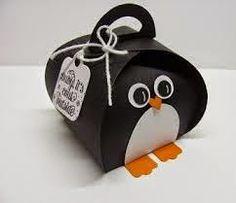 Sconebeker Stempelscheune: freche kleine Geschenkverpackung in Form eines Kürbis