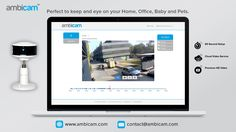 Perfect to keep and eye on your home, business and baby. Home Monitor, Hd Video, Cameras, Eye, Business, Baby, Camera, Hd Movies, Store