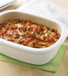 Pampered Chef recipe - Mexican Chicken Lasagna