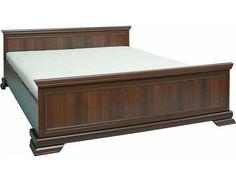 Postel Kora KLS2 Stylová postel z kolekce Kora v klasickém rustikálním stylu. Dezén samoa king. Postel nabízíme z lamina o síle 15 mm a dodáváme ji s laťovým roštem, ale bez matrace. Matraci si můžete … Korat, Hope Chest, Storage Chest, Bench, King, Furniture, Home Decor, Products, Dark Brown