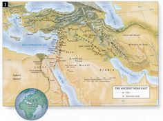 The ancient Near East is considered the cradle of civilization. 3450 BCE in the Ancient Near East the world's first cities appear along the banks of the Tigris and Euphrates Rivers just north of what is now the Persian Gulf.   http://www.gods-word-first.org/bible-maps/ancient-near-east.html