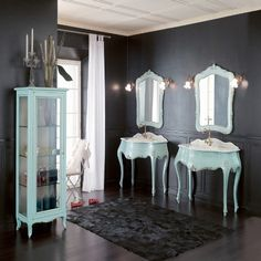designer italian bathroom vanity & luxury bathroom vanities: nella