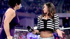 AJ Lee presented photographic evidence of Vickie Guerrero ...