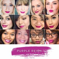 Lipsense Purple Reign Distributor ID 308694 Long Lasting Lip Color, Long Lasting Lipstick, Lipsence Lip Colors, Lip Colour, Bold Colors, Senegence Makeup, Senegence Products, Different Skin Tones, Color Collage