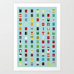 Minimalism SH Art Print by Fabian Gonzalez - $17.00