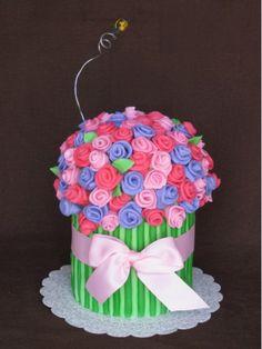 10 Best Flower Bouquet Cake Images