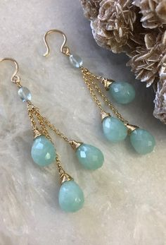 This item is unavailable Diy Earrings Dangle, Topaz Earrings, Small Earrings, Turquoise Earrings, Crystal Earrings, Cute Jewelry, Metal Jewelry, Gemstone Jewelry, Beaded Jewelry