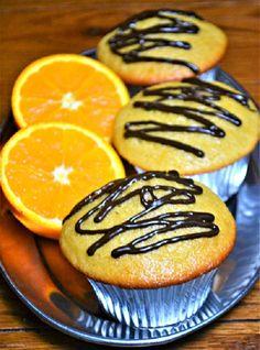 Orange Chocolate Chip Muffins #SundaySupper