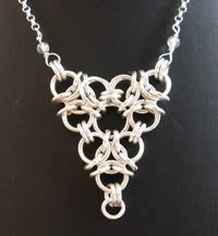Aura weave - Free chain maille jewelry designs - you can create beautiful jewelry.