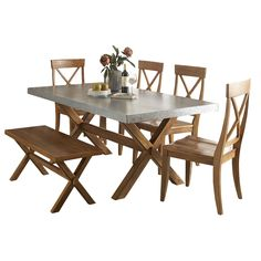 Soapstone dining room tables and metals on pinterest for Soapstone dining table