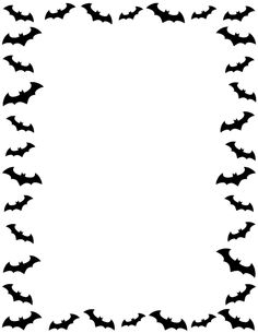 free page boarders and clip art. Halloween Clipart, Halloween Items, Halloween Bats, Borders For Paper, Borders And Frames, Borders Free, Page Boarders, Halloween Borders, Free Clipart Images