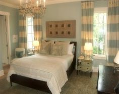I'm obsessed with these curtains.  Such an easy way to make a room pop!  I sure will be on the lookout!