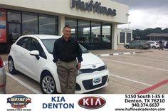 "https://flic.kr/p/t2kRqN | Congratulations to Israel Bonet on your #Kia #Rio from Tom Talbot at Huffines KIA Denton! #NewCar | <a href=""http://www.huffineskiadenton.com/?utm_source=Flickr&utm_medium=DMaxxPhoto&utm_campaign=DeliveryMaxx"" rel=""nofollow"">www.huffineskiadenton.com/?utm_source=Flickr&utm_medi...</a>"