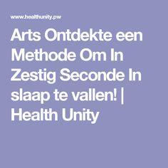 Arts Ontdekte een Methode Om In Zestig Seconde In slaap te vallen! | Health Unity