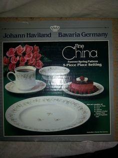 $15.99 http://www.ebay.com/itm/5-pc-Place-Setting-Johann-Haviland-Forever-Spring-Bavaria-Germany-/111036139839?ssPageName=STRK:MESE:IT
