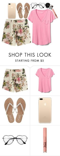 """""""Sweet little something"""" by ohkally ❤ liked on Polyvore featuring VILA, Gap, M&Co, Too Faced Cosmetics, Chanel and polyvoreeditorial"""