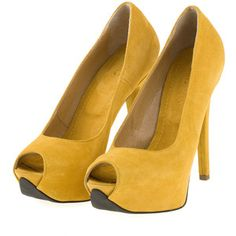 I love yellow shoes!