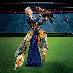 Great picture of Nova and Marianne Hudson from the September 2015 issue of Southern Living! Marianne is the Assistant Director of Raptor Training and Education at the Southeastern Raptor Center in Auburn.