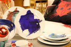 Katie Eary for Ikea Ikea, Korn, Nordic Style, Plates, Tableware, Kitchen, Design, Scandinavian, Falling Down