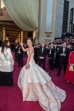 Jennifer Lawrence in Dior, 2013 Academy Awards