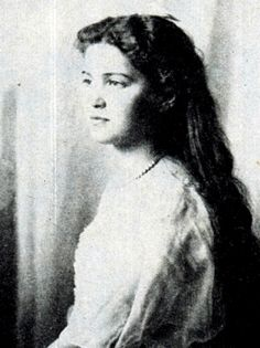 Maria, 1914. the only princess to survive of the Romanov massacre. long thought to have been Anastasia who escaped, until dna determined the two bodies missing from the families remains were alexeis and the dutchess maria, whom the latter was confirmed to have fled to west Africa, and was buried in an unmarked grave next to the bodyguard who posed as her husband to conceal her identity