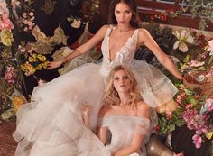 "With plenty of elegance and an abundance of drama, the wedding dresses by Galia Lahav ""Florence by Night"" Fall 2018 Bridal Collection is filled with one breathtaking gown dress after another."
