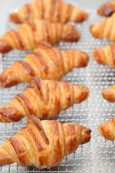 Classic French Croissant Recipe. These look so yummy but of course since it's a French recipe everything is in grams lol... Going to take me a while to do all the conversions