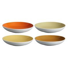 The Rex set of 4 warm multi-coloured stoneware pasta bowls is a classic design in a tonal palette of autumnal hues that nods slightly to the 50s.[br]Designed in house and exclusive to Habitat, the versatile bowls are perfect for everyday use and have a glossy glazed interior and a matt white-glazed exterior.[br]The bowls are part of the Rex range, which includes sets of dinner and side plates, cereal bowls and mugs, and are available in other colours.  available in other colours. Dinner Is Served, Side Plates, Dinner Sets, Cereal Bowls, Stoneware, Warm, Mugs, Autumnal, Pasta