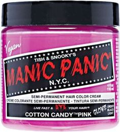 Manic Panic - Cotton Candy Pink Semi Permanent Cream Hair Color