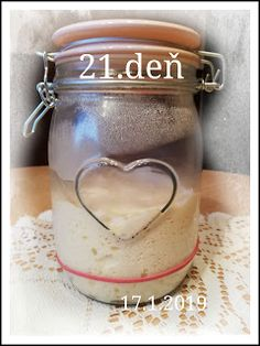 ...svet okolo mňa ...: Príprava kvásku Lievito-Madre Mason Jars, Mason Jar, Glass Jars, Jars