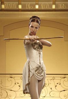 Front of costume (Royal Ballet Sylvia) ♥ www.thewonderfulworldofdance.com