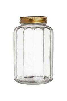 Pot en verre avec couvercle | H&M