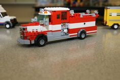 Alexandria Fire Department E207: LEGO® MOC by channaher, via Flickr