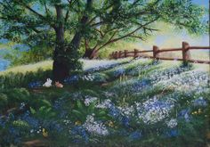 Spring's On Its Way Hanging Paintings, Artwork Display, Acrylic Art, Kit, Landscape, Gallery, Spring, Scenery, Landscape Paintings
