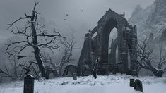 Fantasy Places, Sci Fi Fantasy, Fantasy World, Landscape Concept, Fantasy Landscape, Gothic Landscape, Dragons, Gothic Aesthetic, Environment Concept Art