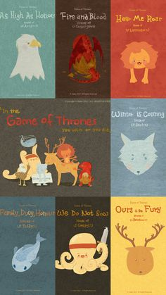 Billedresultat for games of thrones cartoon