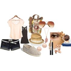 summer(:, created by kennyloulou on Polyvore