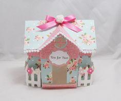 Tea House Box by CardsandMoorebyTerri on Etsy