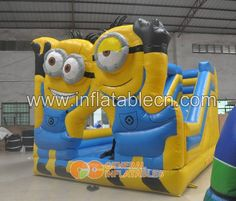 Minions inflatable combo #inflatable #minions #minionsinflatable
