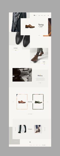 Cool Minimal website design