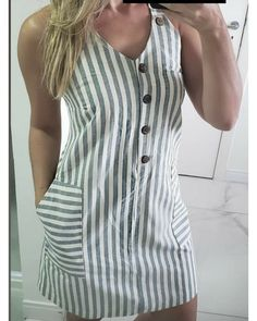 Casual Summer Dresses, Simple Dresses, Simple Dress Pattern, Dress Outfits, Fashion Outfits, Dresses Kids Girl, African Fashion Dresses, Mode Style, Casual Looks