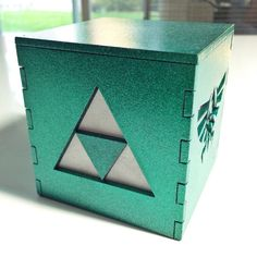 Legend of Zelda Triforce light box 3 medium by BurntPixels