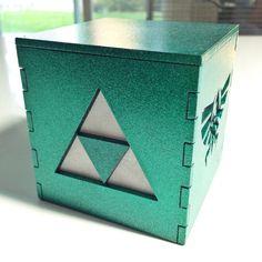 Legend of Zelda Triforce light box  3 medium by BurntPixels, $15.00