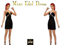 Sims 4 CC's - The Best: Dress by Naddiswelt