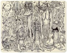 James Jean's drawing