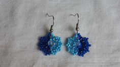 How To Make A Two-Color Bead Earrings - DIY Style Tutorial - Guidecentral